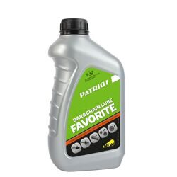 Масло цепное FAVORITE BAR&CHAIN LUBE (0.946 л) PATRIOT 850030601